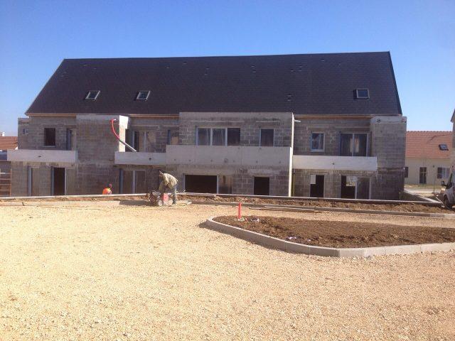 Construction de logements OPAC, Nanteuil Le Haudouin (60)