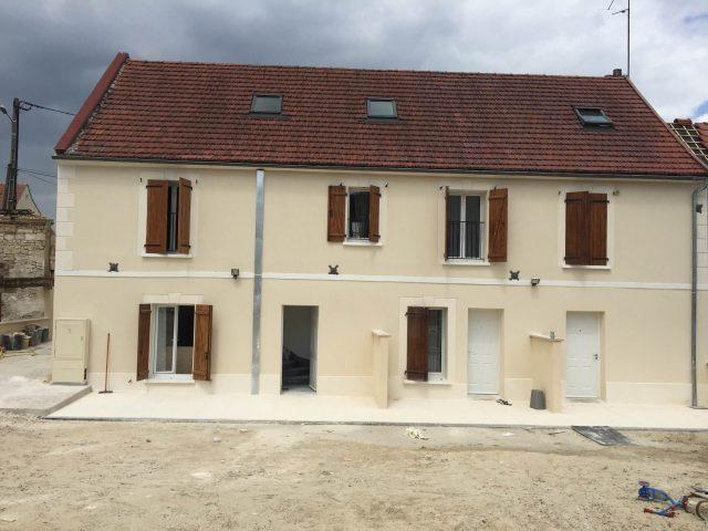Réhabilitation d'une grange en 4 logements, Rantigny (60)