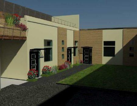 Construction de trois studios, Cachan (94)